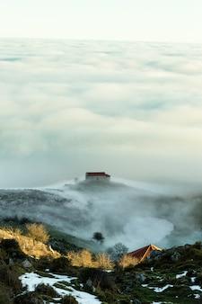 Vue de l'ermitage de la magdalena