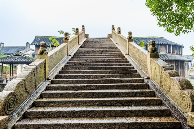 Vue d'escalier de chinise