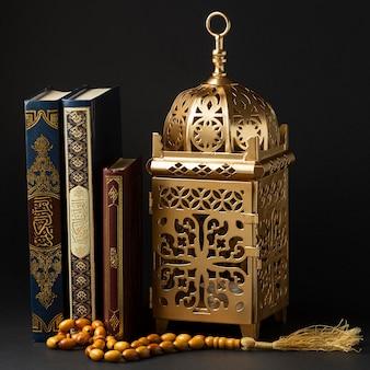 Vue de face concept du nouvel an islamique