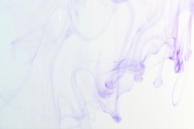 Vue de face du colorant en liquide