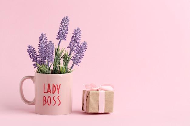 Vue de face du concept de jour de patron heureux