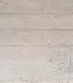 Vue de face mur de l'espace copie de ciment blanc
