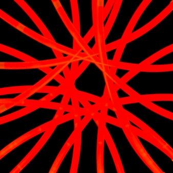 Vue grand angle d'un résumé de lumière rouge vif