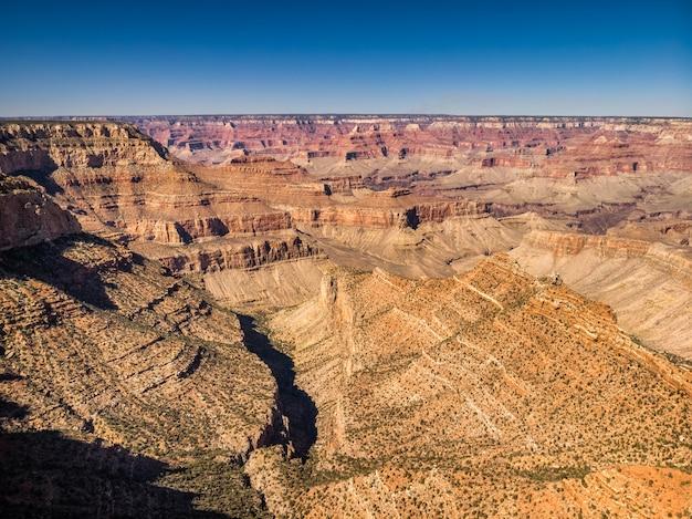 Vue sur le grand canyon