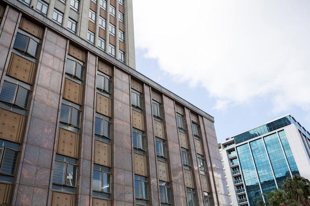 Vue de l'immeuble de bureaux