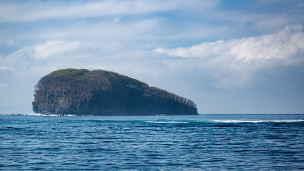 Vue imprenable sur l'océan. bali.