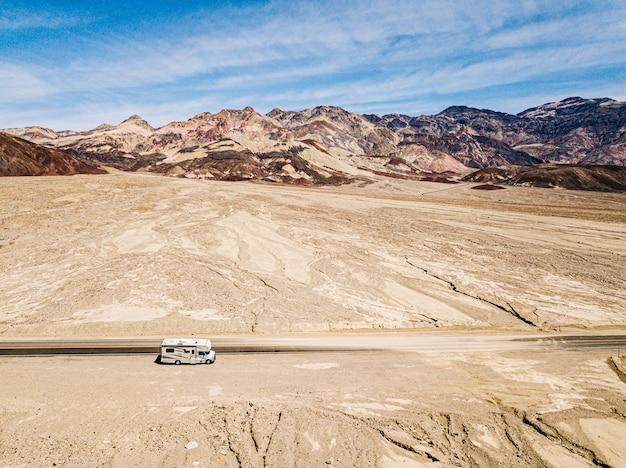 Vue imprenable sur la palette de l'artiste coloré.death valley national park.california.usa
