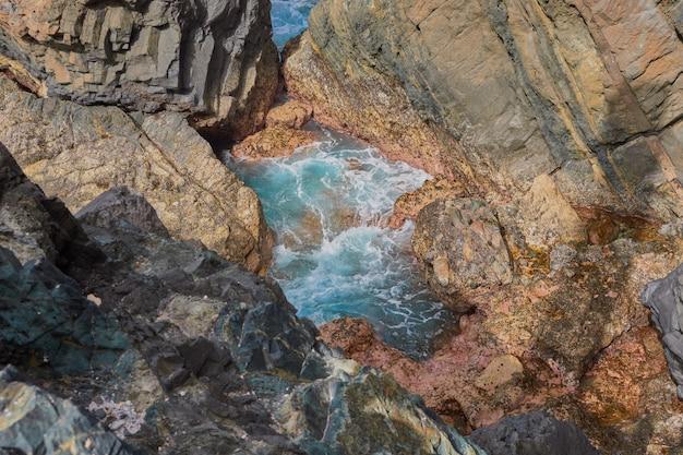 Vue de l'intérieur de la cueva de ajuy