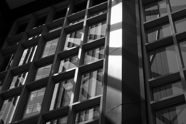 Vue intérieure d'un immeuble de bureaux