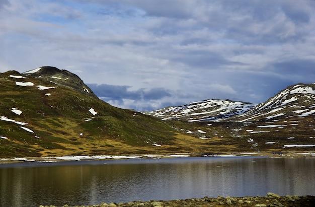 La vue sur le lac, norvège