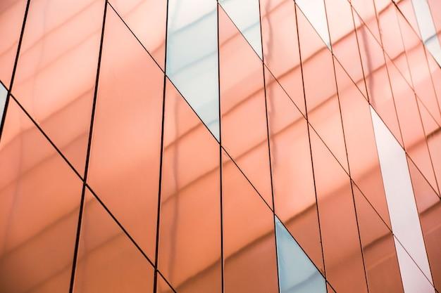 Vue latérale soignée surface colorée