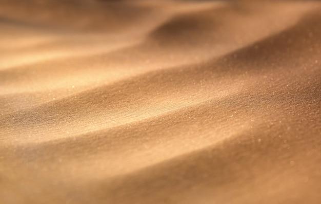 Vue macro des dunes