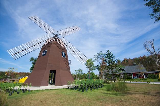 Vue de la maison de la turbine