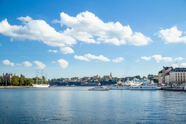 Vue marine de stockholm
