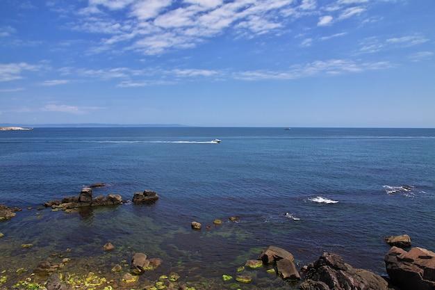 Vue sur la mer noire, bulgarie
