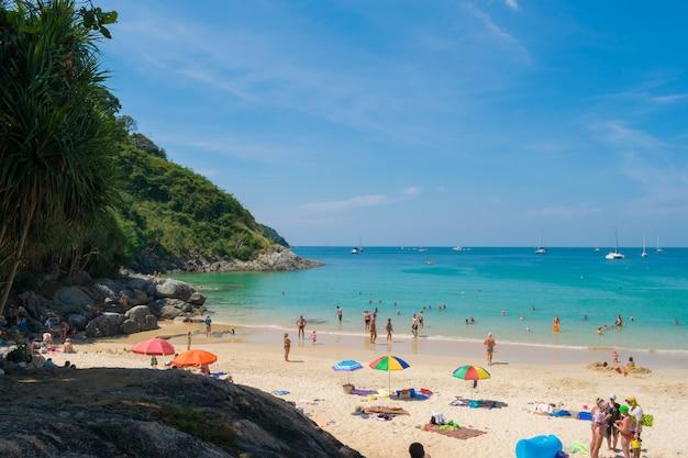 Vue mer, phuket, thailande