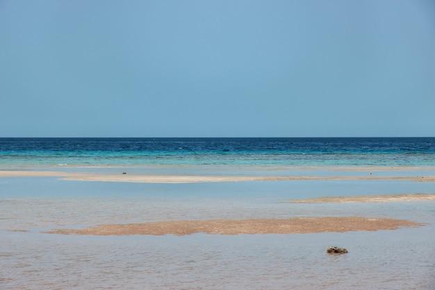 La vue sur la mer rouge, l'arabie saoudite