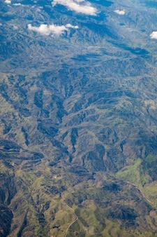 Vue sur les montagnes du paysage