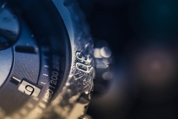 Une vue de la montre de luxe