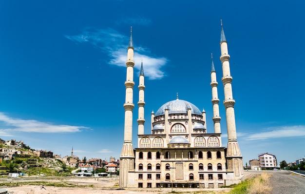 Vue de la mosquée du complexe de nevsehir en turquie