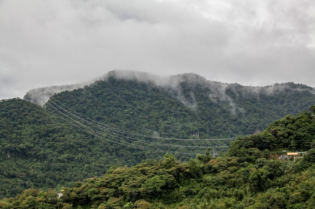 Vue, nature, ville, taiwan, montagne, maokong