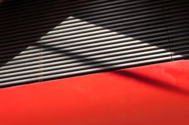 Vue des ombres diurnes abstraites à l'extérieur
