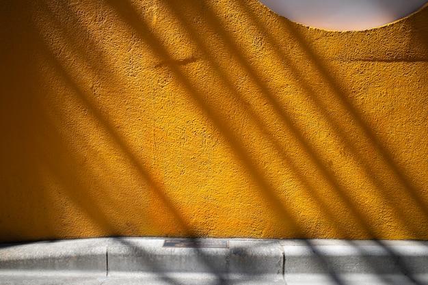 Vue sur les ombres de la lumière du jour à l'extérieur abstrait