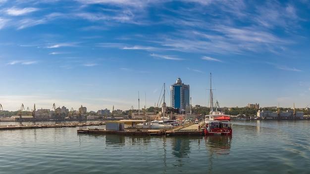 Vue panoramique sur la côte d'odessa