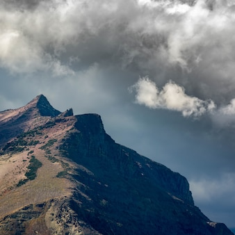 Vue panoramique du parc national des glaciers
