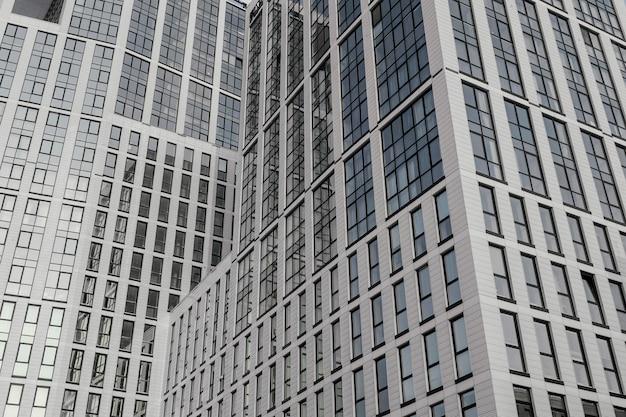 Vue panoramique de fond de ville