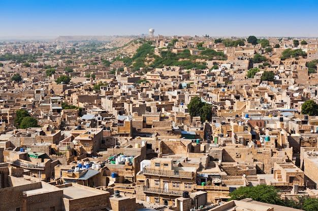 Vue panoramique de jaisalmer