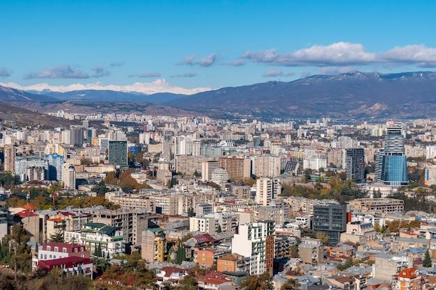 Vue panoramique de tbilissi