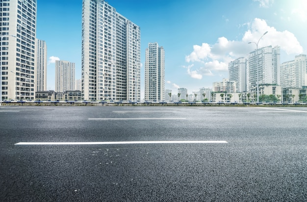 Vue paysage urbain