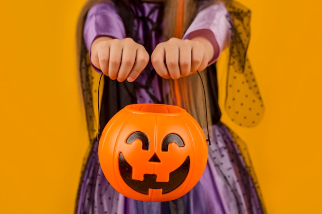 Vue rapprochée du concept d'halloween