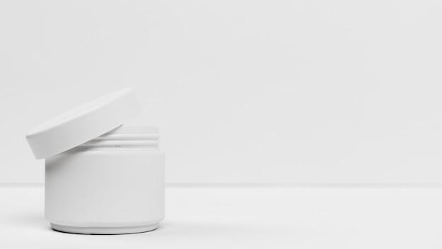 Vue rapprochée du produit crème cosmétique