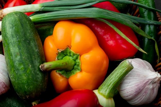 Vue rapprochée des légumes