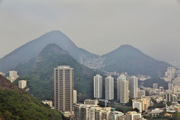 La vue sur rio de janeiro, brésil