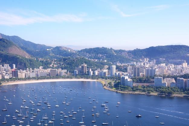 Vue de rio de janeiro, brésil.