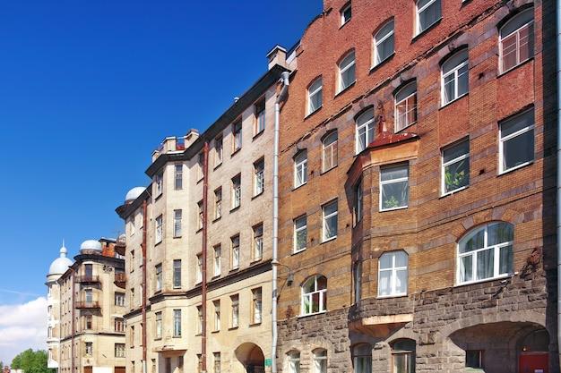 Vue urbaine de saint-pétersbourg.russie