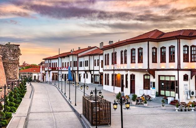 Vue sur la vieille ville d'ankara, la capitale de la turquie