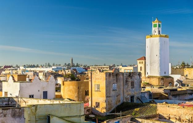 Vue de la vieille ville de mazagan, el jadida, maroc