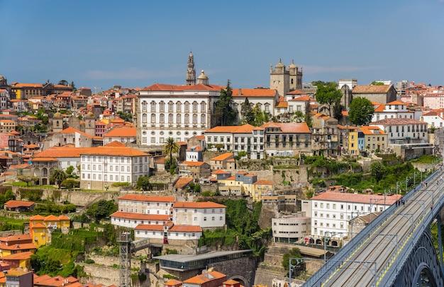 Vue de la vieille ville de porto au portugal