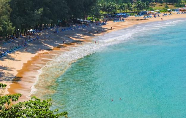 Vues sur la mer à phuket