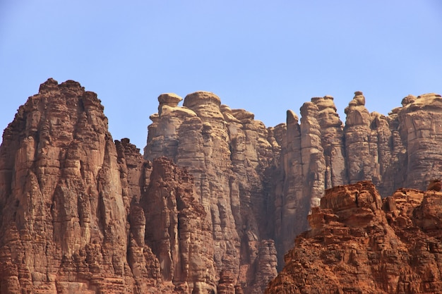 Wadi disah, canyon d'al shaq, arabie saoudite