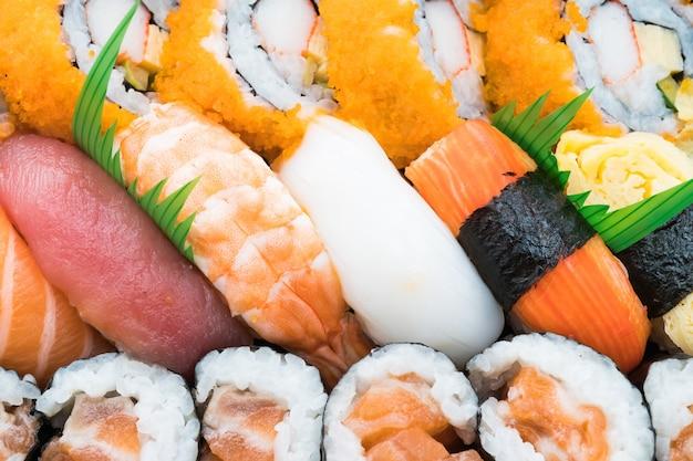 Wasabi noir délicieux riz sain