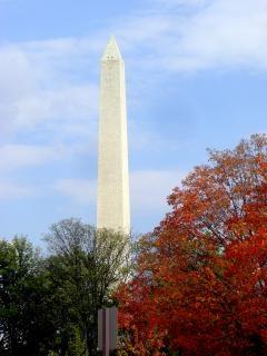 Washington dc monuments célèbres, obélisque