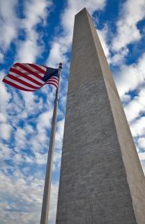 Washington monument blanc