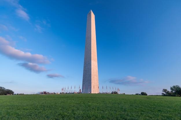 Washington monument à washington dc, etats-unis d'amérique, usa