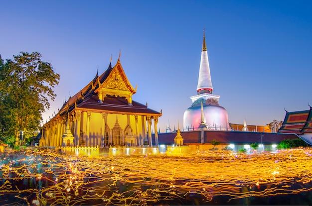 Wat phra mahathat woramahawihan nakhon sri thammarat thaïlande