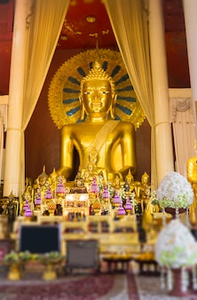 Wat phra singh temple chiang mai thaïlande